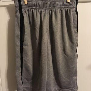 Fila Sport Size Small Grey Mesh Shorts